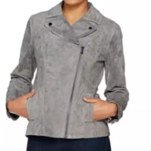 Isaac Mizahi Live Suede Jacket